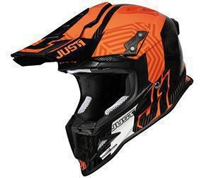 Casca JUST1 J12 PRO Syncro Fluo Orange-Carbon