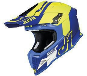 Casca JUST1 J12 PRO Syncro Fluo Yellow-Blue