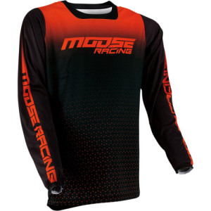 Tricou Moose Racing M1 Black Orange