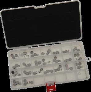 Kit pastile supapa 8.90mm de la 1.72-2.60mm PROX