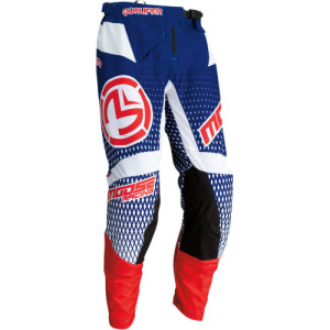 Pantaloni Moose Racing Qualifier Blue/Red/White
