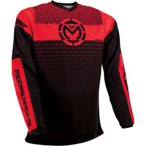 Tricou Moose Racing Qualifier Black/Red