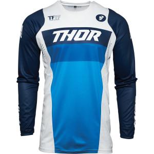 Tricou copii Thor Pulse Racer White/Navy