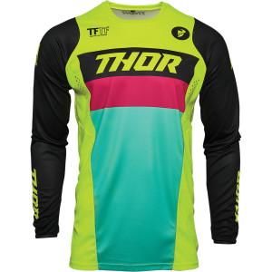 Tricou copii Thor Pulse Racer Acid/Black