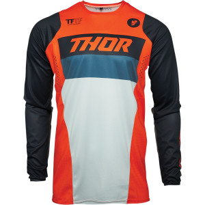 Tricou copii Thor Pulse Racer Orange/Midnight