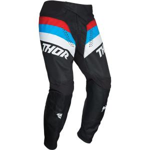 Pantaloni Copii Thor Pulse Racer Black/Red/Blue