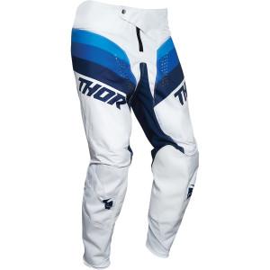 Pantaloni Copii Thor Pulse Racer White/Navy