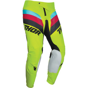 Pantaloni Copii Thor Pulse Racer Acid/Black