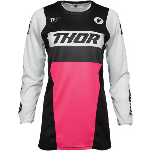 Tricou Thor Pulse Racer Black/Pink