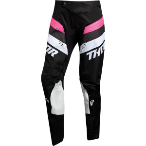 Pantaloni Thor Pulse Racer Black/Pink