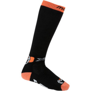Sosete Moose Racing XCR Black/Orange/White