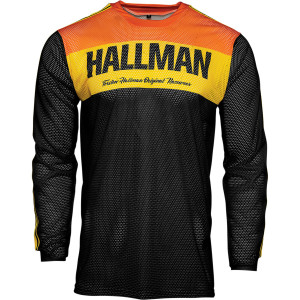 Tricou Thor Hallman Tapd Air Black/Orange