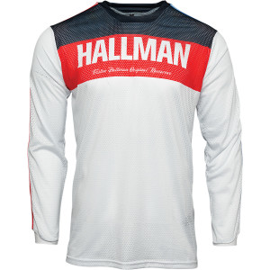 Tricou Thor Hallman Tapd Air Red/White/Blue