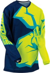 Tricou Moose Racing Qualifier™ Blue/Green/Navy/Teal/Yellow