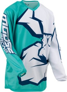 Tricou Moose Racing Qualifier™ Blue/Green/Light Green/Mint/Navy/White