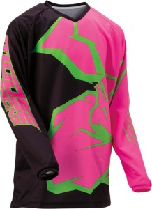 Tricou Moose Racing Qualifier™ Black/Green/Pink