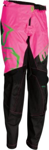 Pantaloni Moose Racing QUALIFIER Black/Green/Pink