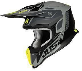 Casca JUST1 J18 Pulsar Fluo Yellow-Grey-Black