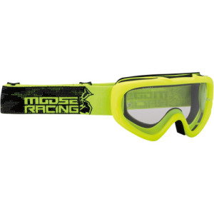 Ochelari copii Moose Racing QUALIFIER Black/Fluorescent Yellow