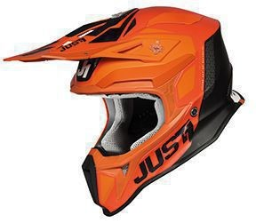 Casca JUST1 J18 Pulsar Orange-White-Black