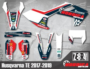 Kit stickere Husqvarna 17-19 Nordicamoto