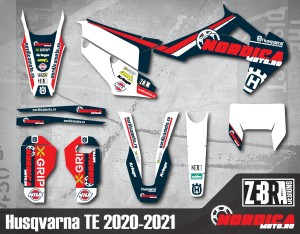 Kit stickere Husqvarna 20-21 Nordicamoto
