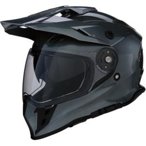 Casca Z1R Range Dual Sport Black/Gloss/Gray