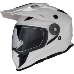 Casca Z1R Range Dual Sport Black/Gloss/White