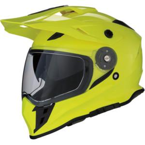 Casca Z1R Range Dual Sport Black/Fluorescent Yellow/Gloss