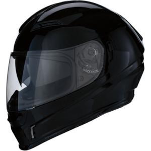 Casca Z1R Jackal Solid Black/Gloss