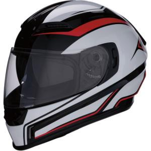 Casca Z1R Jackal Aggressor Black/Red/White
