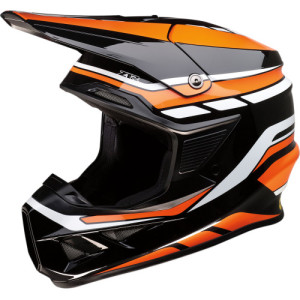 Casca Z1R F.I. Black/Orange/White