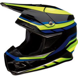 Casca Z1R F.I. Black/Blue/Fluorescent Yellow