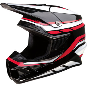 Casca Z1R F.I. Black/Red/White