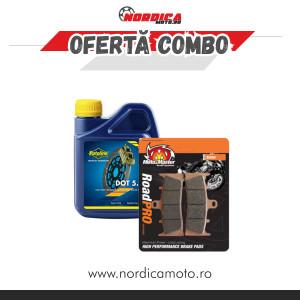 Pachet lichid de frana Putoline DOT 5.1  500ml + placute frana fata KTM/Husqvarna Moto-Master Pro Racing
