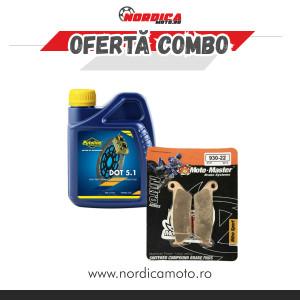 Pachet Lichid de frana Putoline DOT 5.1 BRAKE FLUID 500ml + Placute frana fata KTM Moto-Master Nitro