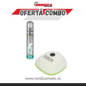 Pachet Spray filtru aer Motorex 750ml + Filtru Aer KTM Hiflo Filtro