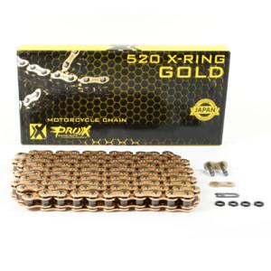 Lant X-Ring pasul 520 Gold Prox 120 zale
