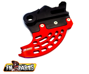 Protectie Disc Frana Spate Beta 250/300 2013-2021 Rosu/Negru Fm-Parts