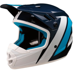 Casca copii Z1R Rise Evac Blue/Gloss/White