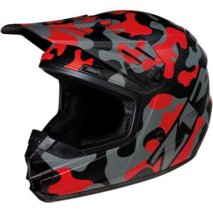 Casca copii Z1R Rise Camo Black/Gray/Red