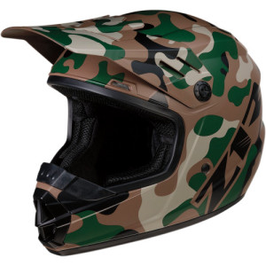 Casca copii Z1R Rise Camo Brown/Green/Tan