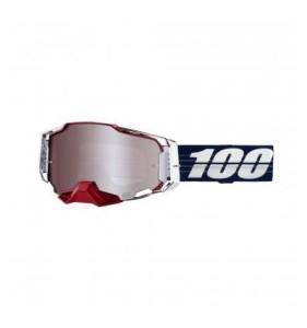 Ochelari 100% ARMEGA  Bruni HiPER Limited Edition Silver Mirror