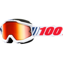Ochelari 100% Accuri Snowmobil White/Red