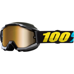 Ochelari 100% Accuri Snowmobil Black/Yellow/Teal