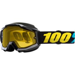 Ochelari 100% Accuri Black/Yellow/Teal