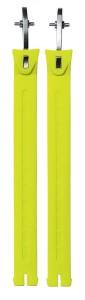 Sidi (Nr. 45) Curea extra lungă galben Fluo