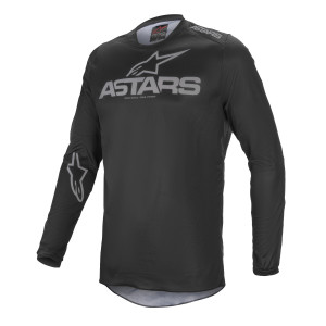 Tricou Alpinestars Fluid Graphite Black/Dark Gray