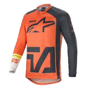 Tricou Alpinestars Racer Compass Orange/Anthracite/White