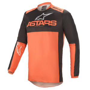Tricou Alpinestars Fluid Tripple Black/Orange